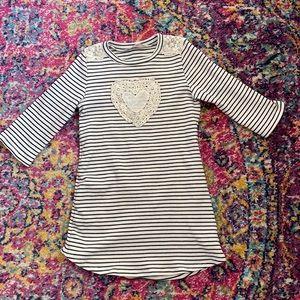 Sophia + Zeke t-shirt dress. Size 6x